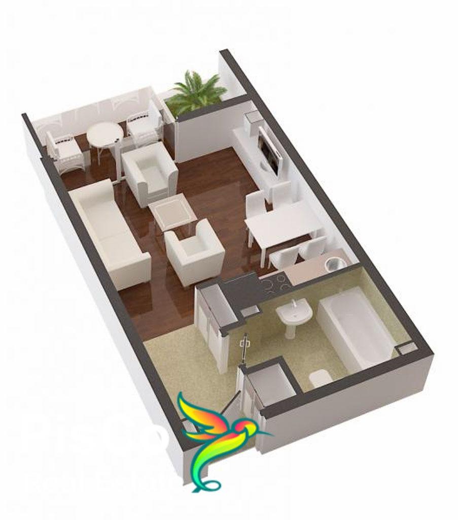Studio Apartment 22 m2 Preko Morače | Apartments for Sale