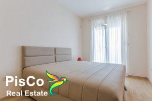 Jednosoban stan - prodaja stanova podgorica - City Kvart - trpezarija i kuhinja - spavaća soba