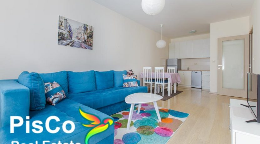 Jednosoban stan - prodaja stanova podgorica - City Kvart - dnevna soba