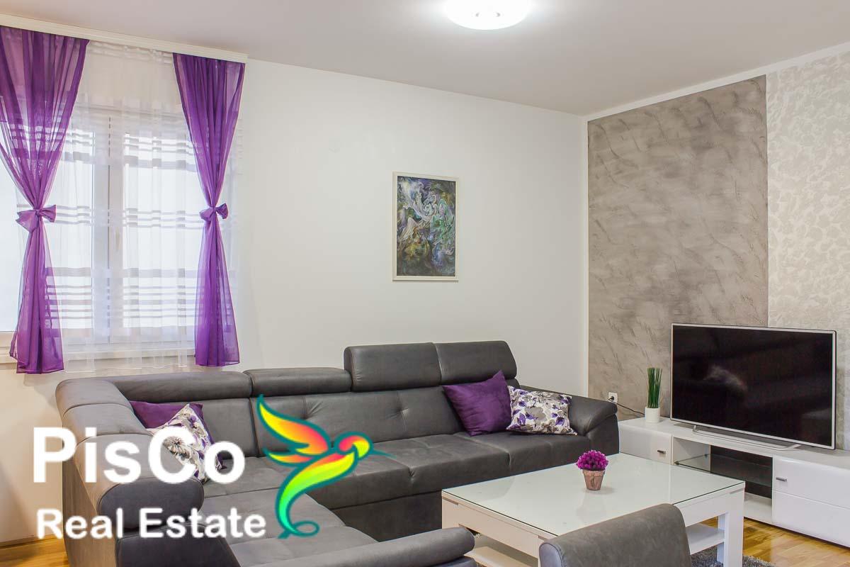 Izdaje se lux jednosoban stan ul. Slovačka | Podgorica