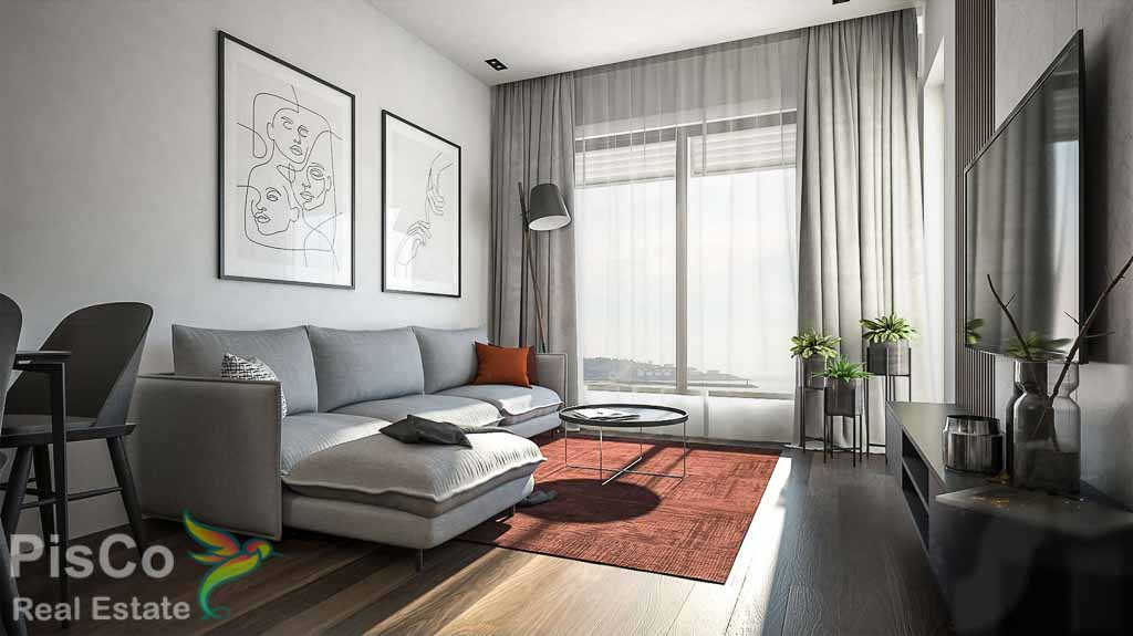 One-Bedroom Apartment 45,73m2 – New – Bar