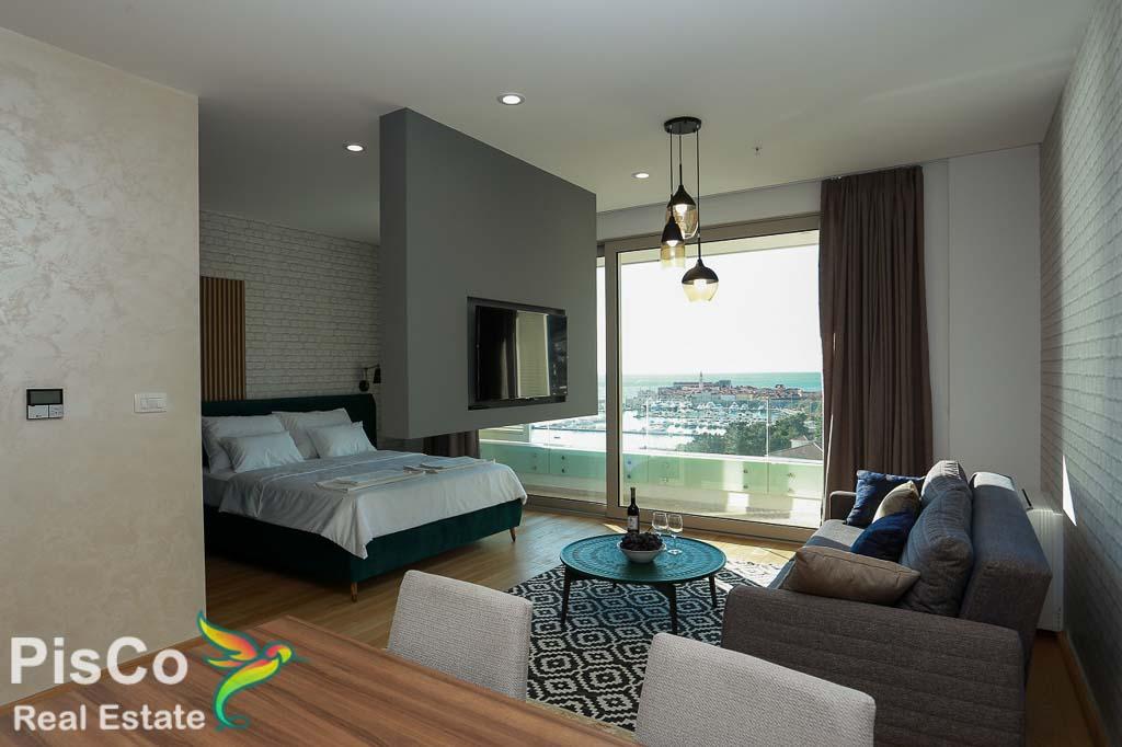 Apartman 45m2 sa pogledom na more