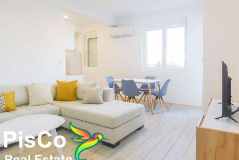 Izdaje se nov dvosoban stan iza Radoja Dakića | Podgorica