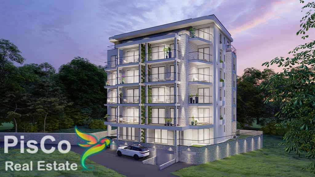 Jednosobni apartman 40,73m2 u Bečićima