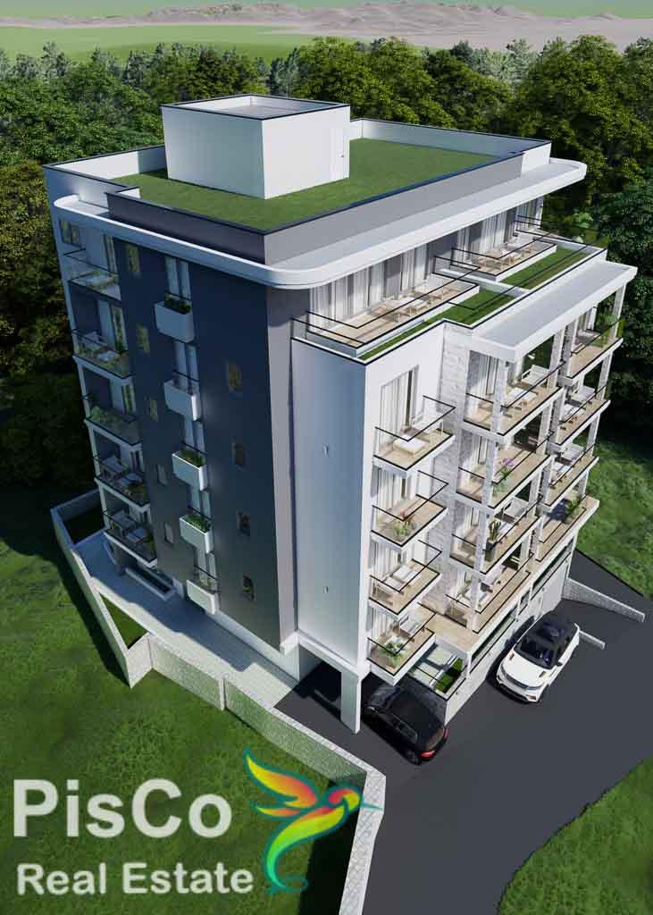 Studio apartman 34,88m2 u Bečićima – Novogradnja