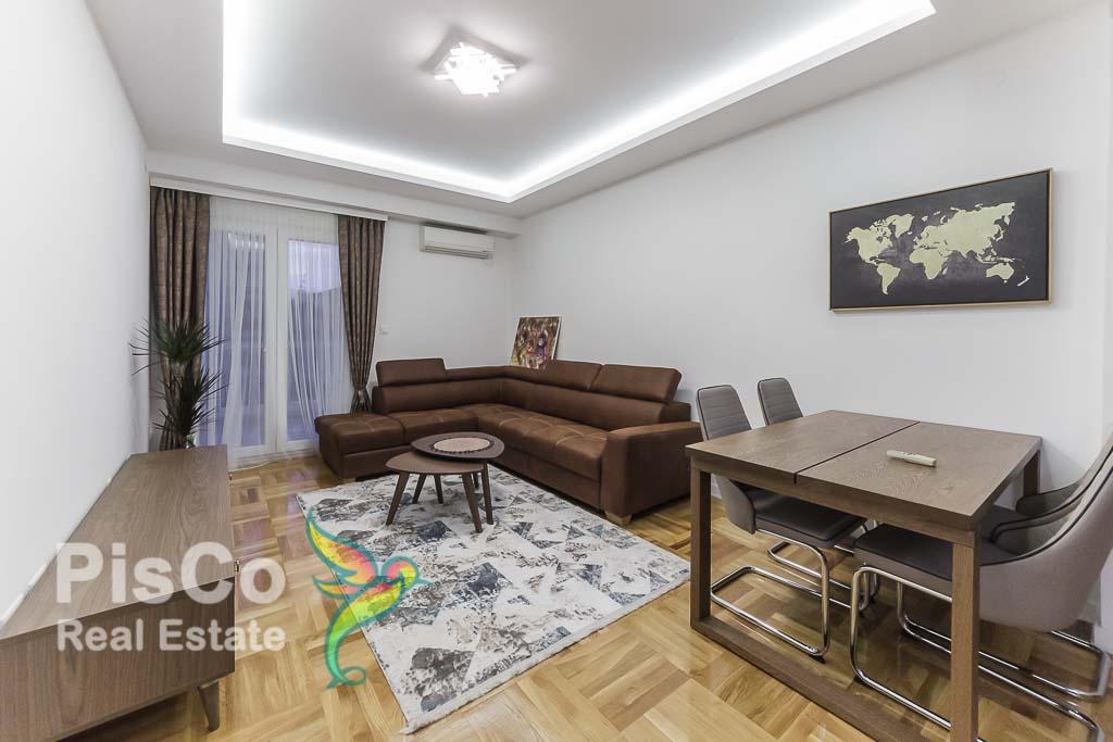 Izdaje se lux dvosoban stan u ul. Kralja Nikole 70m2   Podgorica
