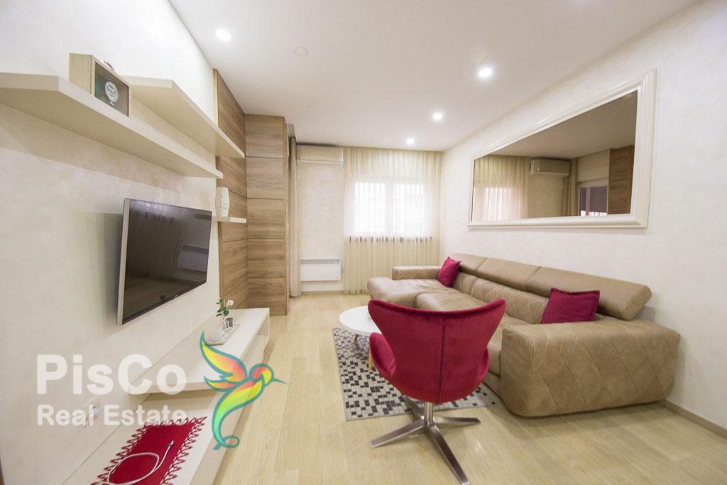 Izdaje se lux dvosoban stan u City Kvartu kod Sicilije | Podgorica