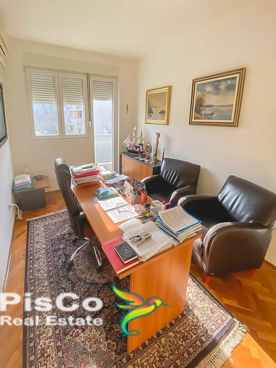 Furnished office space for rent in Vasa Raičkovića Street