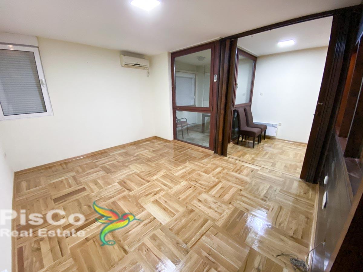 Two bedroom empty apartment for rent in Block 5 | Podgorica