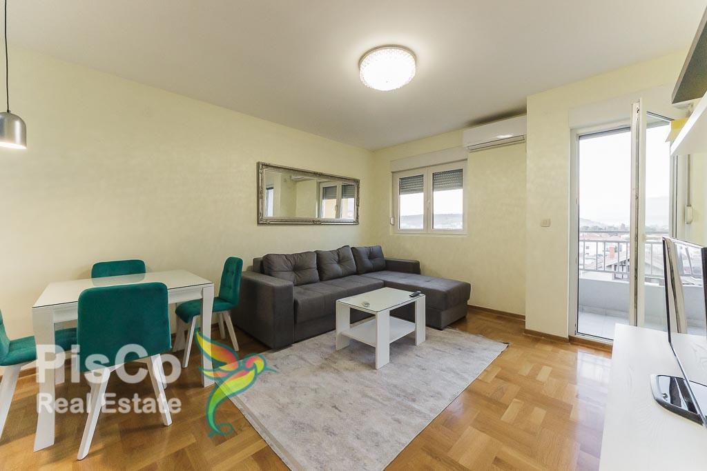 FOR RENT Lux one bedroom apartment at the Stari Aerodrom Podgorica