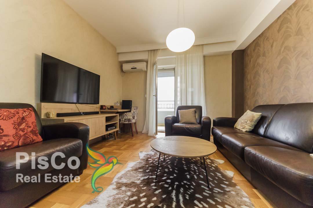 Na prodaju Lux namješten trosoban stan u Bloku IX 78m2