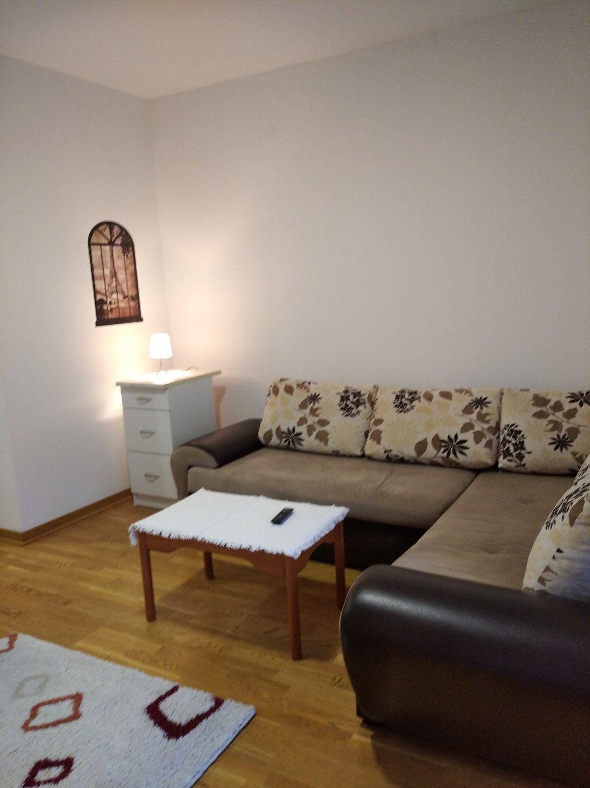 Studio apartment for rent in City Kvart near Optika Babić Podgorica