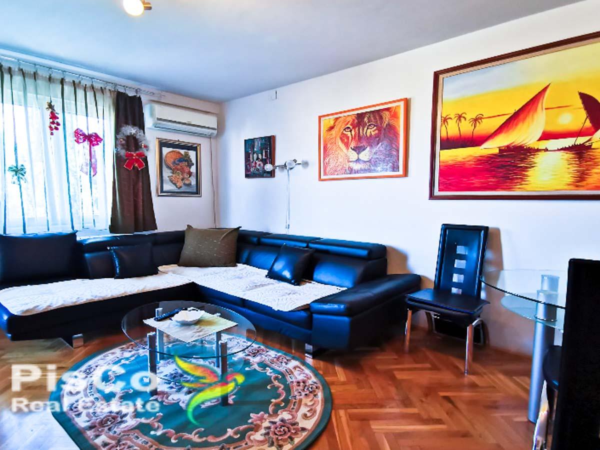 Na prodaju namješten jednosoban stan pod Ljubovićem 50m2