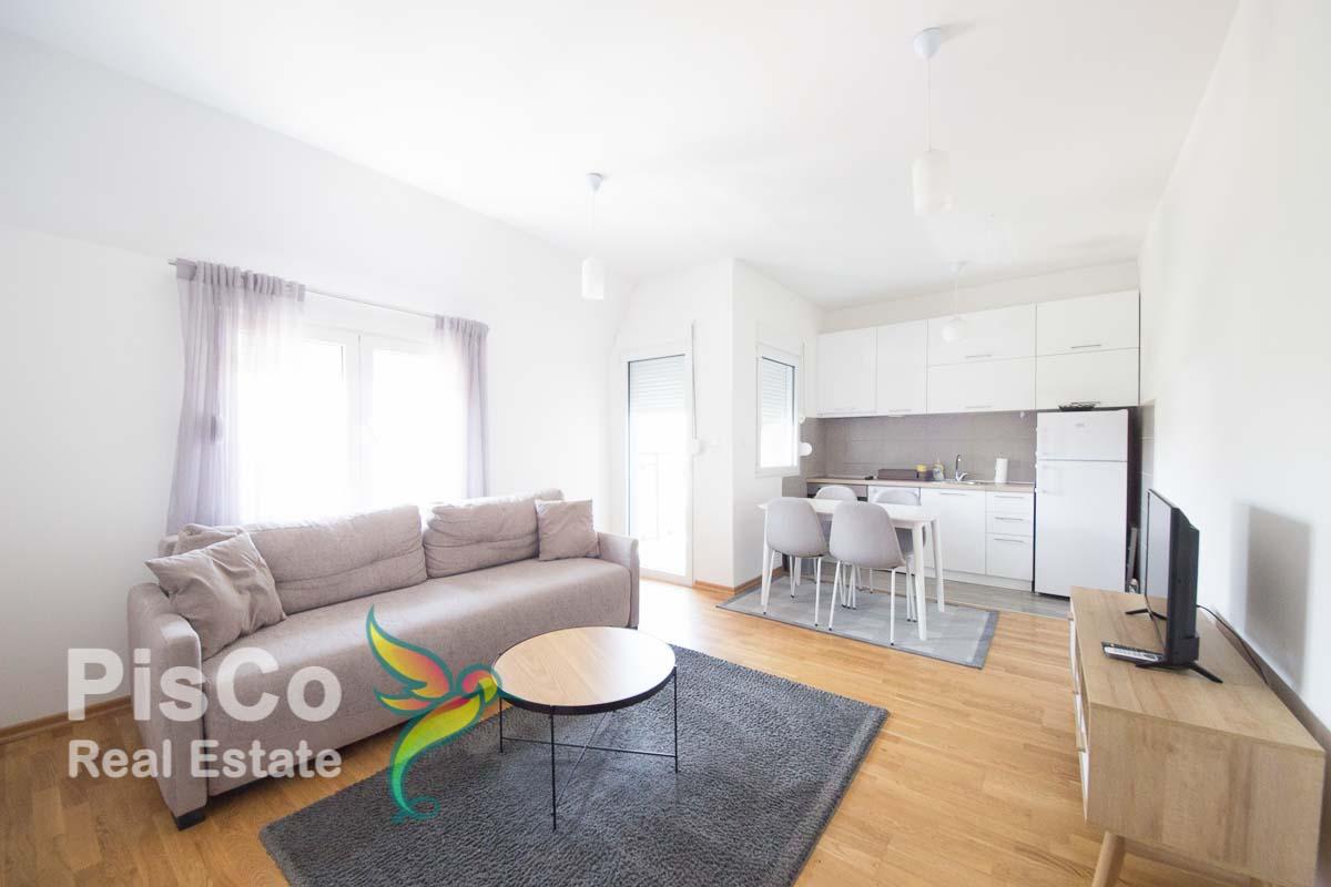 Izdaje se jednosoban stan u novi Blok 9 | Podgorica