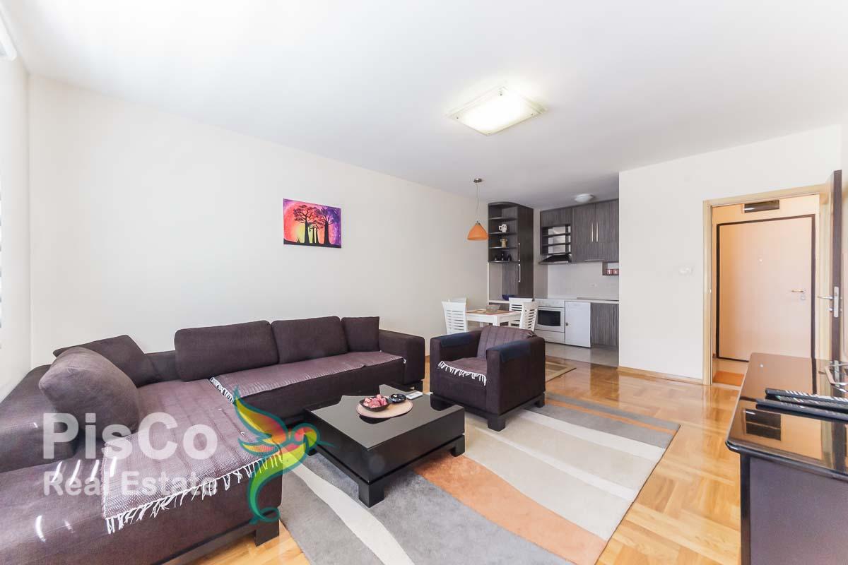 FOR RENT One bedroom apartment in the Zeta-building building in 4. Jula Street | Podgorica