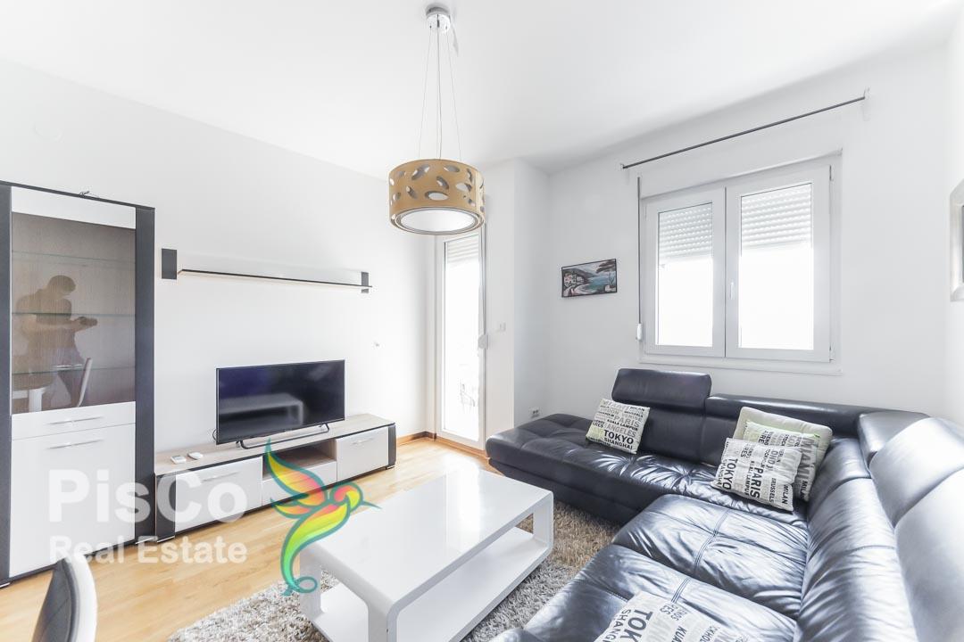 Izdaje se dvosoban stan u City Kvartu kod K sporta | Podgorica