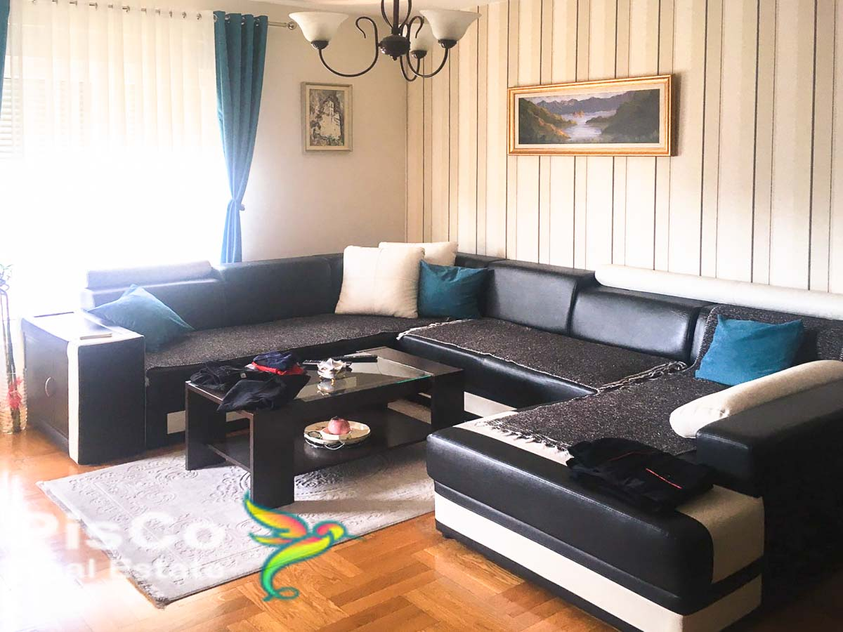 FOR SALE Furnished two-bedroom apartment in 4. Jula Street 73m2